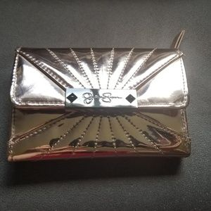 Jessica Simpson Rose Gold Wallet